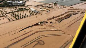 Woda zalała wschodnią Hiszpanię.