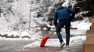 Pogoda na dziś: deszczowo. W Karkonoszach intensywnie popada śnieg