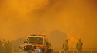 Pożary na przedmieściach Perth w Australii Zachodniej (PAP/EPA)