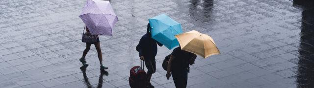 Prognoza pogody na pięć dni: deszcz, deszcz ze śniegiem i silny wiatr