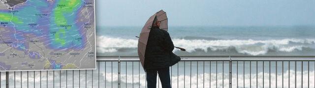 Pochmurny, deszczowy i wietrzny weekend