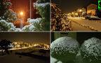 W Warszawie spadł śnieg