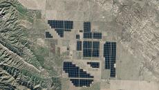 Panele słoneczne w Kalifornii
