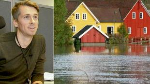 Bohater mimo wody. Uratował norweskie wioski przed zalaniem