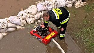 Rekordowa liczba interwencji strażaków po wtorkowych ulewach i burzach