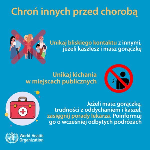 Chroń innych przed chorobą (tvnmeteo.pl za WHO)