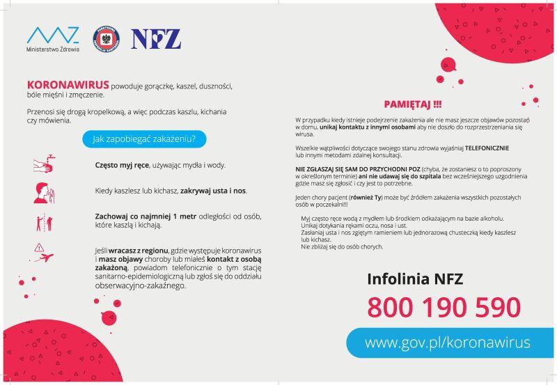 Jak zapobiegać zakażeniu (Ministerstwo Zdrowia)