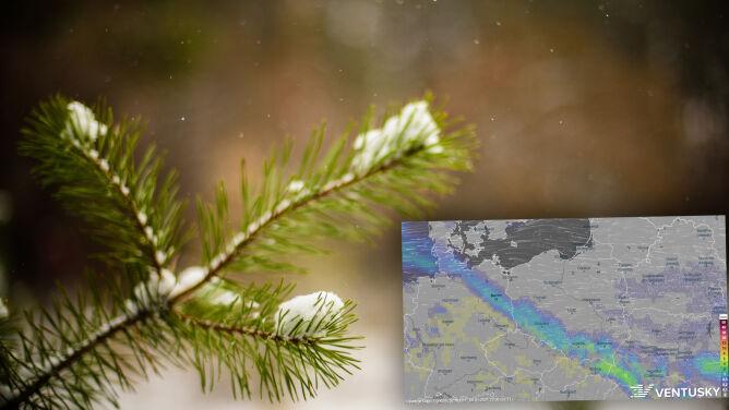 Pogoda na 5 dni: czy w pierwszych dniach nowego roku spadnie śnieg?