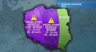 Warunki drogowe w piątek 15.07